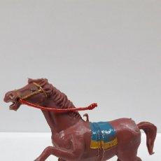 Figuras de Goma y PVC: CABALLO . REALIZADO POR ESTEREOPLAST . AÑOS 60. Lote 175961720