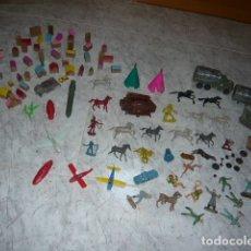 Figuras de Goma y PVC: GRAN LOTE JUGUETES ANTIGUOS COMANSI DILIGENCIA , GOULA , JUGUETE KIOSKO, MONTAPLEX.... Lote 175991844