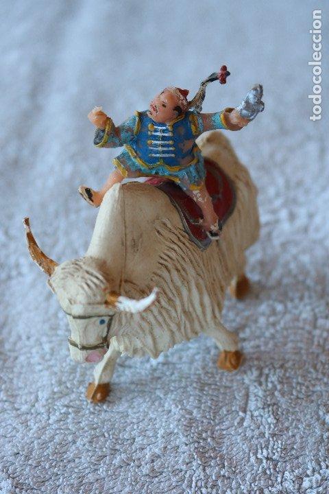 SING LI MONTADO EN YAK - ESTEREOPLAST - COSACO VERDE (Juguetes - Figuras de Goma y Pvc - Estereoplast)