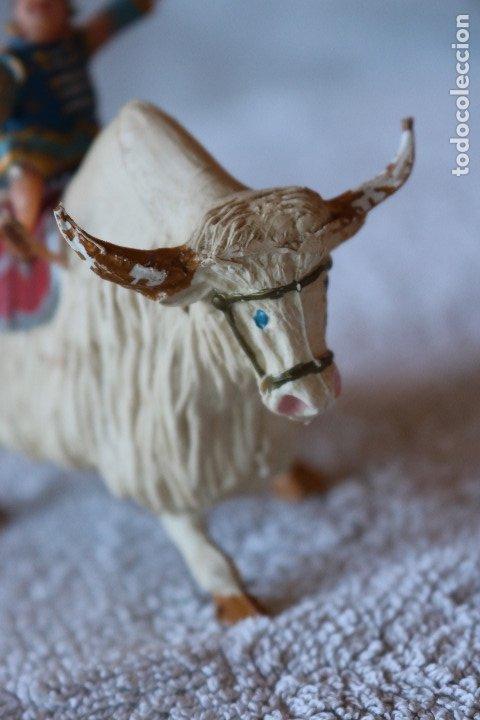 Figuras de Goma y PVC: SING LI MONTADO EN YAK - ESTEREOPLAST - COSACO VERDE - Foto 6 - 176060193