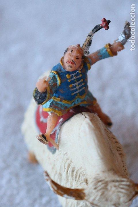 Figuras de Goma y PVC: SING LI MONTADO EN YAK - ESTEREOPLAST - COSACO VERDE - Foto 7 - 176060193