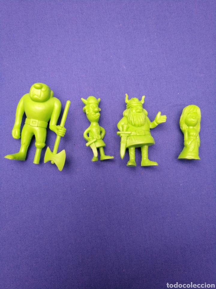 Figuras de Goma y PVC: LOTE DE 15 FIGURAS DUNKIN , SERIE PORTUGUESA, DE VICKIE EL VIKINGO, AÑOS 70/80 - Foto 3 - 176073809