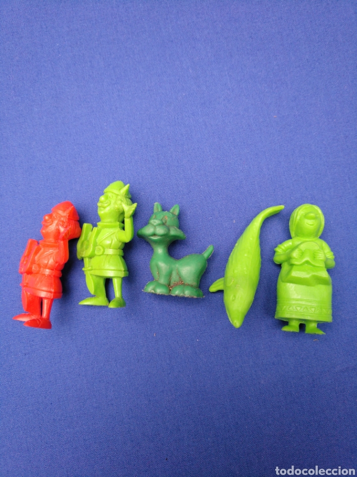 Figuras de Goma y PVC: LOTE DE 15 FIGURAS DUNKIN , SERIE PORTUGUESA, DE VICKIE EL VIKINGO, AÑOS 70/80 - Foto 5 - 176073809