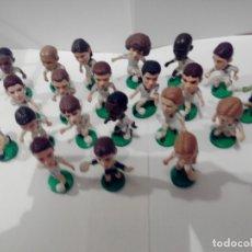 Figuras de Goma y PVC: COLECCION DE 18 JUGADORES DEL REAL MADRID. Lote 176082540