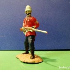 Figuras de Goma y PVC: SARGENTO BOURNE; GUERRAS ZULUS. Lote 176090233
