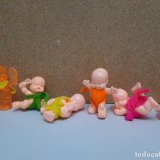 Figuras de Goma y PVC: LOTE MUÑECOS DE GOMA LES BABIES BEBES DE KIOSKO AÑOS 90 INCLUYE ESPECIAL. Lote 176098882
