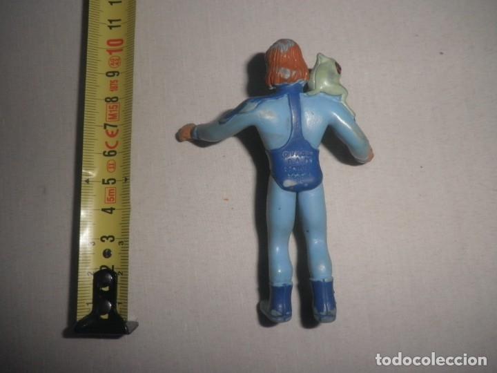 Figuras de Goma y PVC: FIGURA DE PVC DE LA CORONA MAGICA MUY RARA. FILMIN 1989. COMICS SPAIN - Foto 2 - 176104473