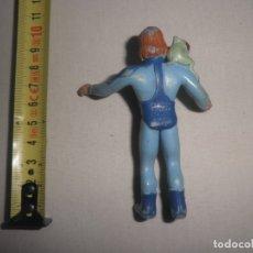 Figuras de Goma y PVC: FIGURA DE PVC DE LA CORONA MAGICA MUY RARA. FILMIN 1989. COMICS SPAIN. Lote 176104473