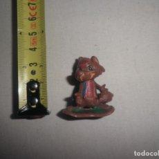Figuras de Goma y PVC: DUNKIN ZORRITO. MUY RARA Y ANTIGUA. HANNA BARBERA.. Lote 176105500