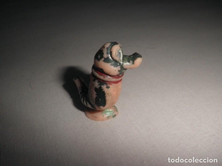 Figuras de Goma y PVC: DUNKIN LAGARTO TRANQUILO (¿JUANCHO?). MUY ANTIGUA Y RARA. HANNA BARBERA. - Foto 3 - 176105982