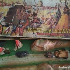 Figuras de Goma y PVC: ANTIGUA CAJA DIORAMA EL GRAN CAÑÓN DEL COLORADO COMANSI. Lote 176108905