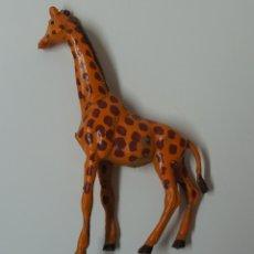 Figuras de Goma y PVC: FIGURA JIRAFA MARCA PECH .. Lote 176117943