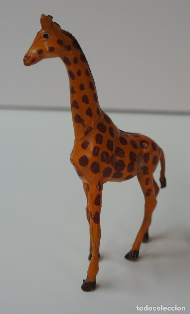 Figuras de Goma y PVC: FIGURA JIRAFA MARCA PECH . - Foto 3 - 176117943