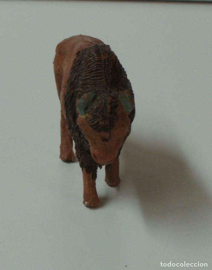 Figuras de Goma y PVC: FIGURA BÚFALO MARCA PECH . - Foto 4 - 176118125