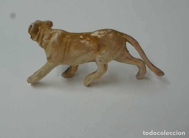 Figuras de Goma y PVC: FIGURA DE LEONA MARCA PECH . - Foto 3 - 176118578