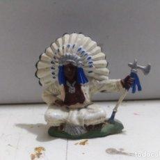 Figuras de Goma y PVC: FIGURA BRITAIN'S INDIO OESTE FART WEST . Lote 176124914