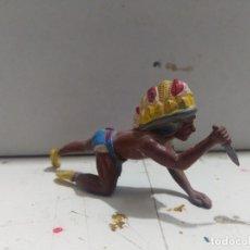 Figuras de Goma y PVC: FIGURA BRITAIN'S INDIO OESTE FART WEST . Lote 176124987