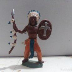 Figuras de Goma y PVC: FIGURA BRITAIN'S INDIO OESTE FART WEST. Lote 176125060