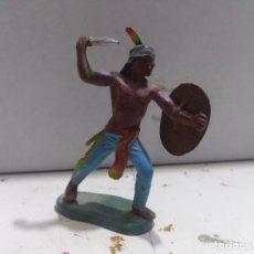 Figurines en Caoutchouc et PVC: FIGURA BRITAIN'S INDIO OESTE FART WEST . Lote 176125387