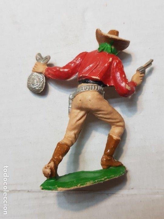 Figuras de Goma y PVC: Comansi Ladrón del Oeste primeras épocas escaso - Foto 2 - 176139540