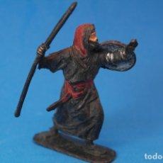Figuras de Goma y PVC: ANTIGUA FIGURA EN PLASTICO. GUERRERO SERIE BEN YUSUF JECSAN.. Lote 176179452