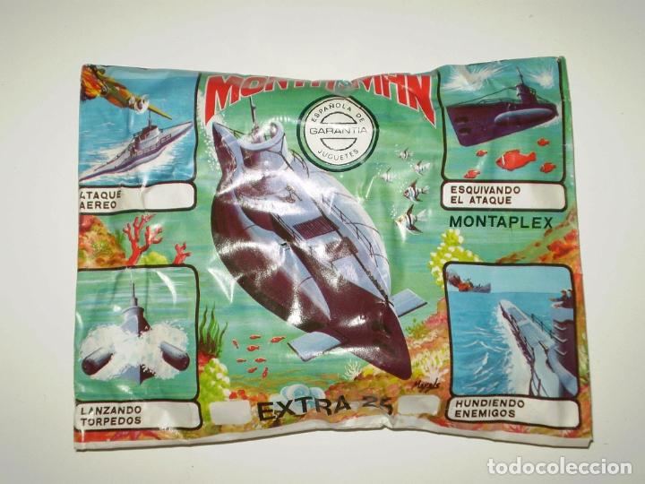 SOBRE MONTAPLEX EXTRA Nº 25 MONTAMAN SUBMARINO - SOBRE CERRADO (Juguetes - Figuras de Goma y Pvc - Montaplex)