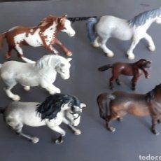 Figuras de Goma y PVC: LOTE FIGURAS ANIMALES SCHLEICH. Lote 176272084