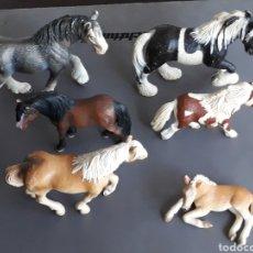 Figuras de Goma y PVC: LOTE FIGURAS ANIMALES SCHLEICH. Lote 176272278