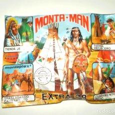 Figuras de Goma y PVC: SOBRE MONTAPLEX EXTRA Nº 38 MONTAMAN TIENDA INDIA - SOBRE CERRADO. Lote 203572095