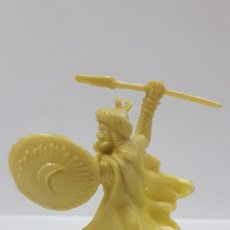 Figuras de Goma y PVC: GUERRERO SARRACENO . REALIZADO EN LOS AÑOS 60 / 70 . EN PLASTICO MONOCOLOR. Lote 176363083