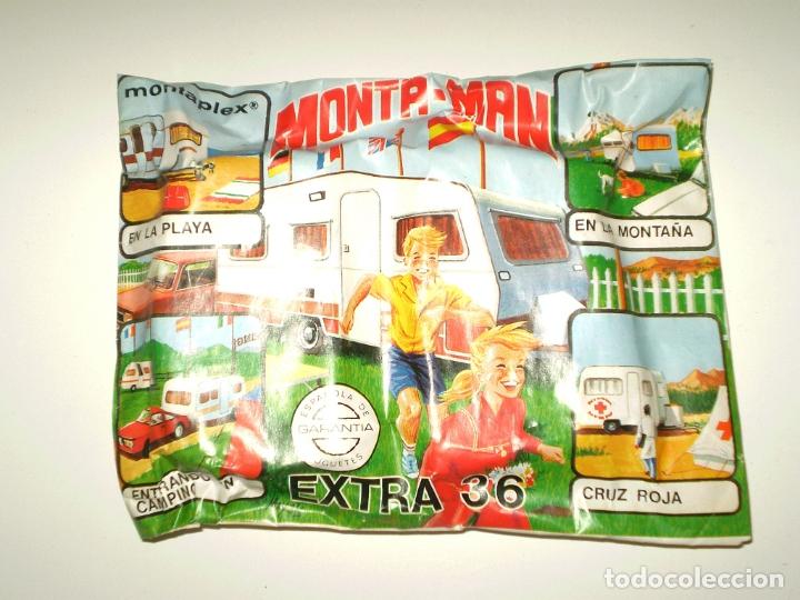 SOBRE MONTAPLEX EXTRA Nº 36 MONTAMAN CARAVANA - SOBRE CERRADO (Juguetes - Figuras de Goma y Pvc - Montaplex)