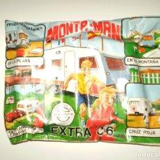 Figuras de Goma y PVC: SOBRE MONTAPLEX EXTRA Nº 36 MONTAMAN CARAVANA - SOBRE CERRADO. Lote 188421738