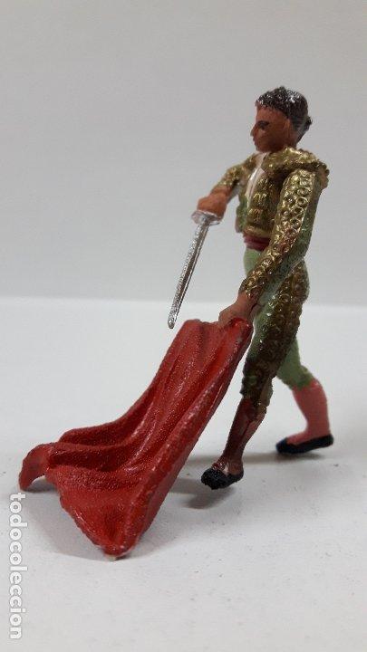 Figuras de Goma y PVC: TORERO . REALIZADO POR TEIXIDO . AÑOS 60 - Foto 3 - 176409119