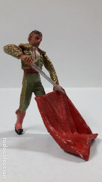 Figuras de Goma y PVC: TORERO . REALIZADO POR TEIXIDO . AÑOS 60 - Foto 4 - 176409119