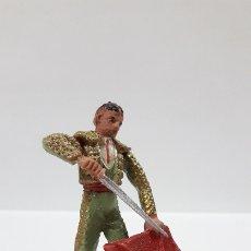 Figuras de Goma y PVC: TORERO . REALIZADO POR TEIXIDO . AÑOS 60. Lote 176409119