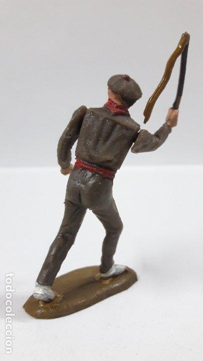 Figuras de Goma y PVC: MULILLERO O MOZO DE MULAS . REALIZADO POR TEIXIDO . AÑOS 60 - Foto 2 - 176414863