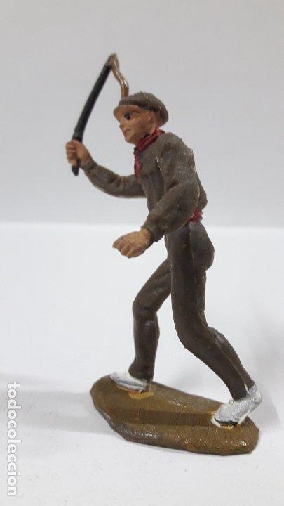 Figuras de Goma y PVC: MULILLERO O MOZO DE MULAS . REALIZADO POR TEIXIDO . AÑOS 60 - Foto 3 - 176414863