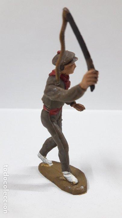 Figuras de Goma y PVC: MULILLERO O MOZO DE MULAS . REALIZADO POR TEIXIDO . AÑOS 60 - Foto 4 - 176414863