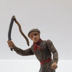 Figuras de Goma y PVC: MULILLERO O MOZO DE MULAS . REALIZADO POR TEIXIDO . AÑOS 60. Lote 176414863