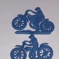 Figuras de Goma y PVC: LOTE DE 3 MOTOS TIPO MONTAPLEX. Lote 176416714