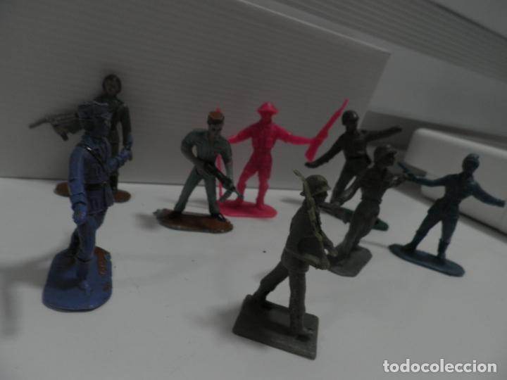 Figuras de Goma y PVC: 8 FIGURAS SOLDADOS COMANSI Y OTRAS MARCAS - Foto 8 - 176424575