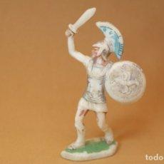 Figuras de Goma y PVC: FIGURA ROMANOS CONTRA CARTAGINESES, BATALLAS DEL MUNDO, METAURO, PLÁSTICO, ROJAS Y MALARET, AÑOS 60.. Lote 176436778