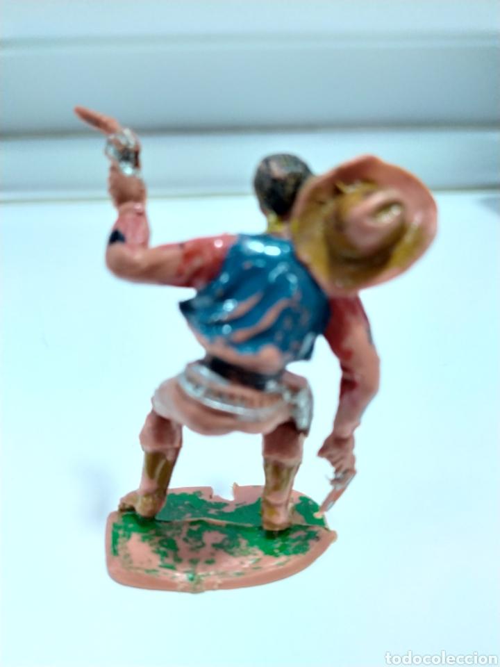 Figuras de Goma y PVC: VAQUERO - COWBOY HERIDO . REALIZADO POR COMANSI . AÑOS 70 - Foto 3 - 176442945