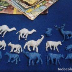 Figuras de Goma y PVC: LOTE MONTAPLEX ( 14 FIGURAS ANIMALES ). Lote 176458328