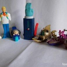 Figuras de Goma y PVC: LOTE DE 7 FIGURAS EN PVC / DE MACDONALD Y BURGUER KING. Lote 176475958