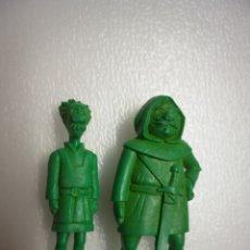 Figuras de Goma y PVC: LOTE 2 FIGURAS PVC DUNKIN SERIE B.R.B EL PEQUEÑO CID VINTAGE AÑOS 80. Lote 176509317