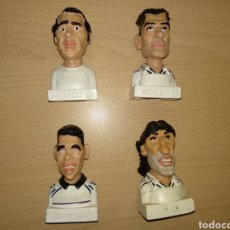 Figuras de Goma y PVC: FIGURA BUSTOS REAL MADRID FUTBOL CÓMICS SPAIN. FIGURAS LEGENDARIAS PVC. Lote 155251338