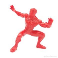 Figuras de Goma y PVC: ¡ÚNICA! SPIDERMAN MARVEL DE YOLANDA AÑO 1996 SIN PINTAR, RAREZA. Lote 176518974