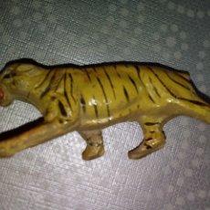Figuras de Goma y PVC: TIGRE JECSAN ANIMALES AÑOS 50. Lote 176521599