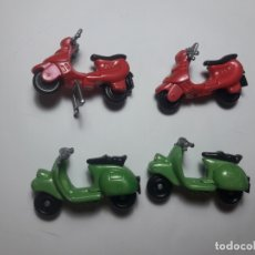 Figuras Kinder: 4 MOTOS ( UNA COMPLETA, RESTO INCOMPLETAS ), KINDER SORPRESA. Lote 176547647